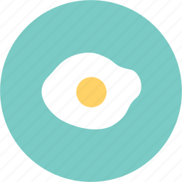 breakfast, dish, egg, fried gtt, lunch, plate icon