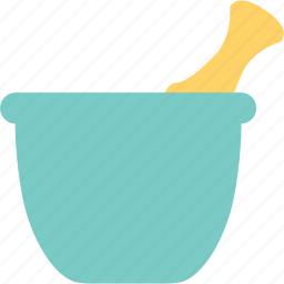 bowl, cook, cooking, maedicine, mortar, pharmacist, pharmacy icon
