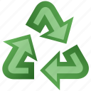 arrow, recycle