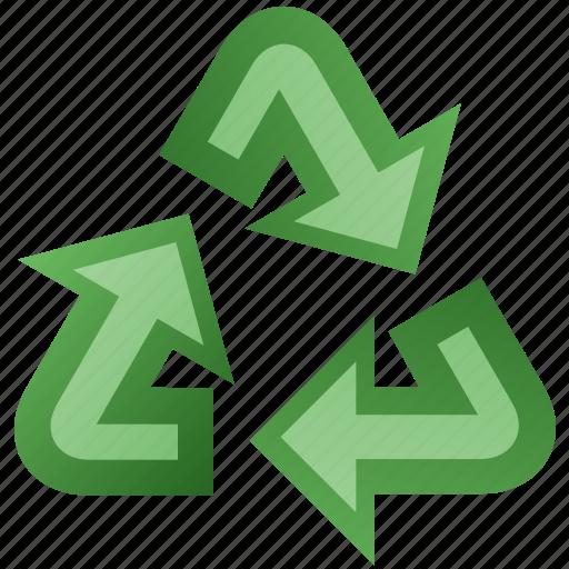 arrow, recycle icon