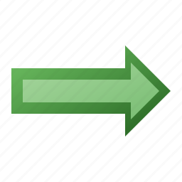 arrow, forward, right icon