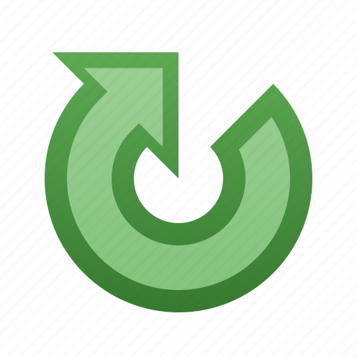 arrow, clockwise, rotate icon