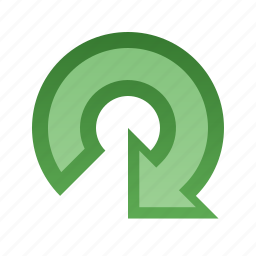 arrow, clockwise, rotate icon