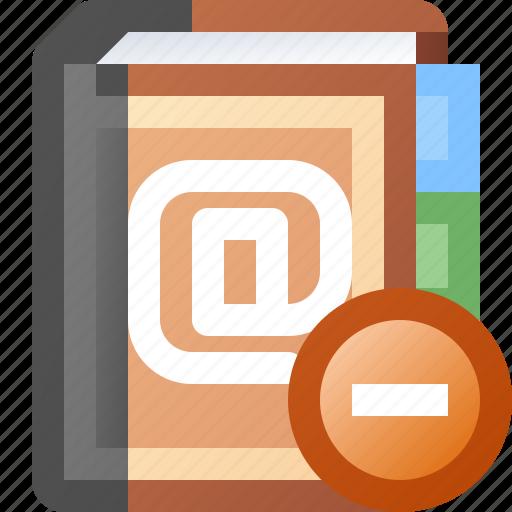 addresses, book, delete icon