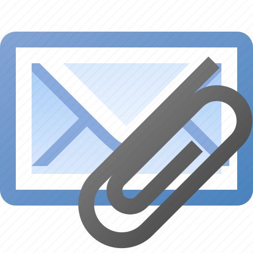 attach, email icon