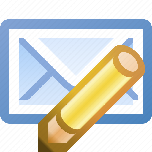 edit, email icon