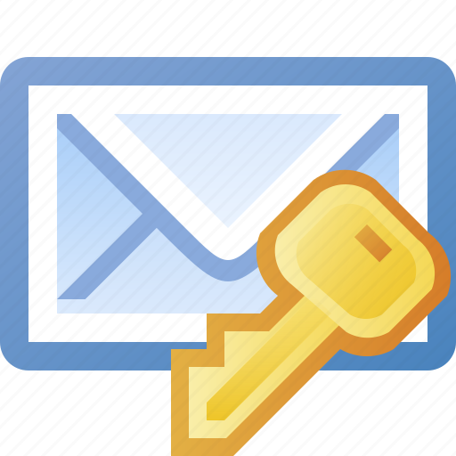 authentication, email, key, lock, login, password, private, protection, secure, security icon