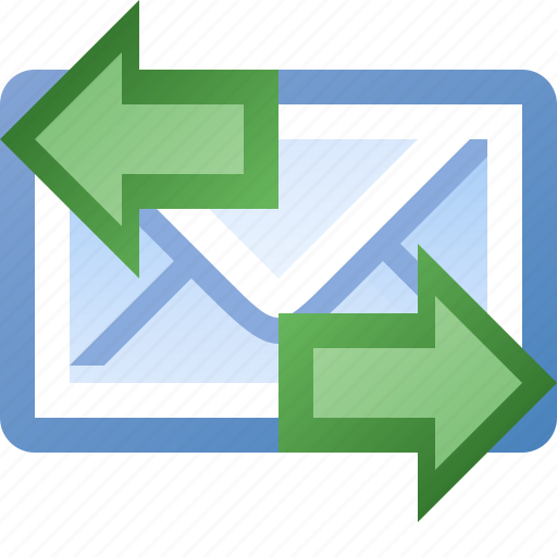 email, left, right icon