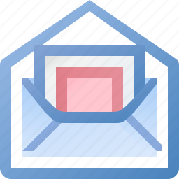email, image, open, photo, picture icon