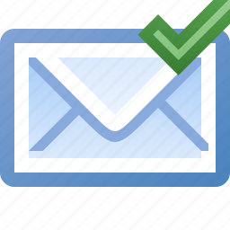 email, valid icon