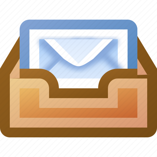 email, inbox icon