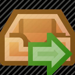 go, inbox icon