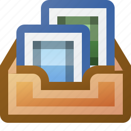 images, inbox, photos, pictures icon
