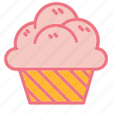 bread, cupcake, dessert, food, pastries, pastry, sweets icon