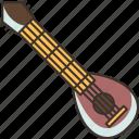 mandolin, musical, instrument, string, traditional