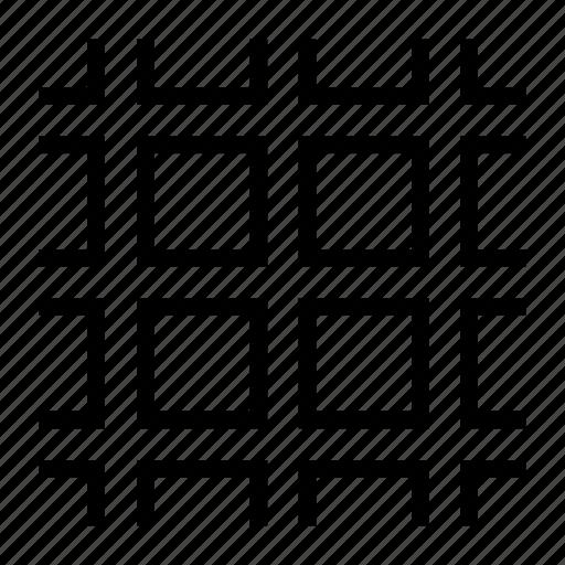 pattern, square icon