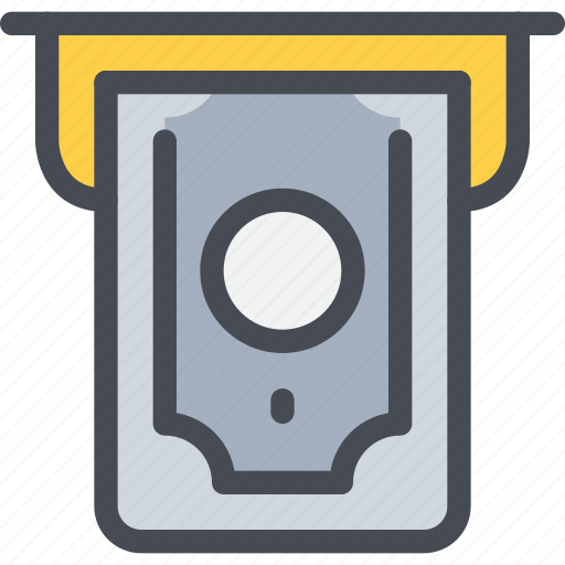 atm, bank, business, finance, money, payment icon