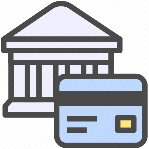 account, bank, credit card, debit card, finance icon