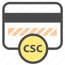 card, credit card, security code icon