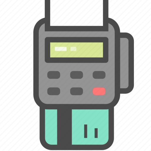 card, machine, payment, pos icon