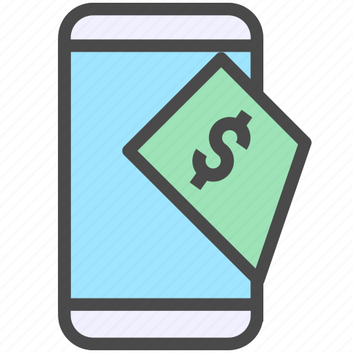 mobile, pay, payment icon