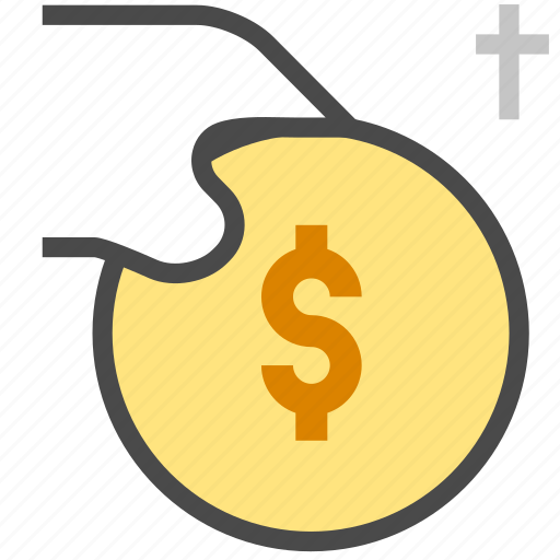 coin, money, payment icon