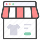 browser, ecommerce, shopping icon