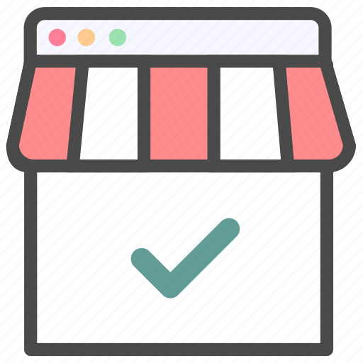complete, shop, shopping icon