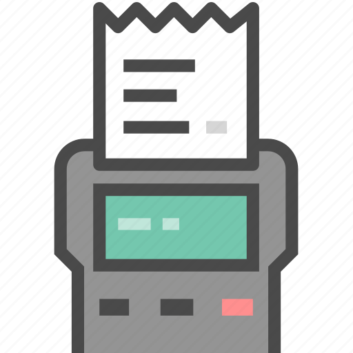 invoice, payment, receipt icon