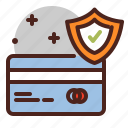 card, debit, pay, security icon