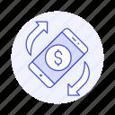 digital, money, payment, refund, smartphone