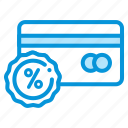 card, credit, discount, electronic, payment icon
