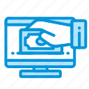 electronic, internet, money, payment icon