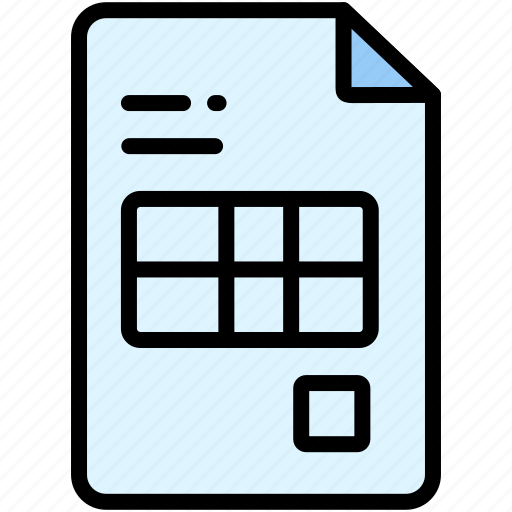 bill, electronic, payment icon