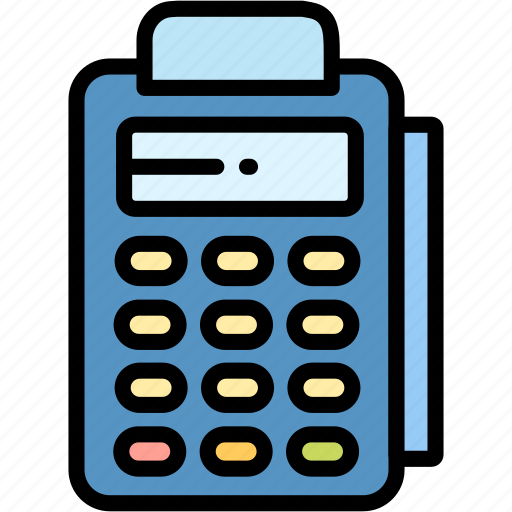 edc, electronic, payment icon