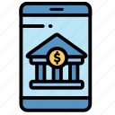banking, electronic, mobile, payment icon