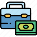 case, electronic, money, payment icon