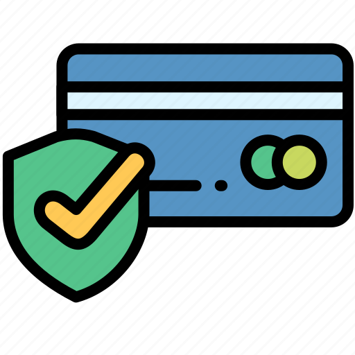 card, credit, electronic, payment, protected icon