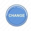 cents, change, coins, money icon