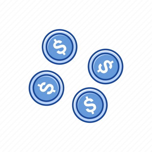 cents, coins, dollar, money icon