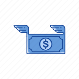 currency, dollar, payment, send money icon