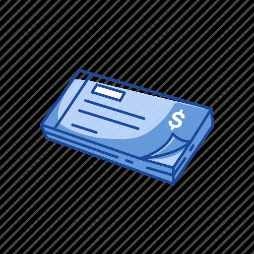 bank check, check, check book, pay check icon