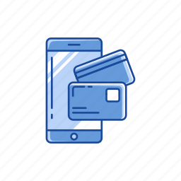 atm card, card, mobile payment, online payment icon