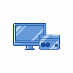 card, money, online payment, online shopping icon