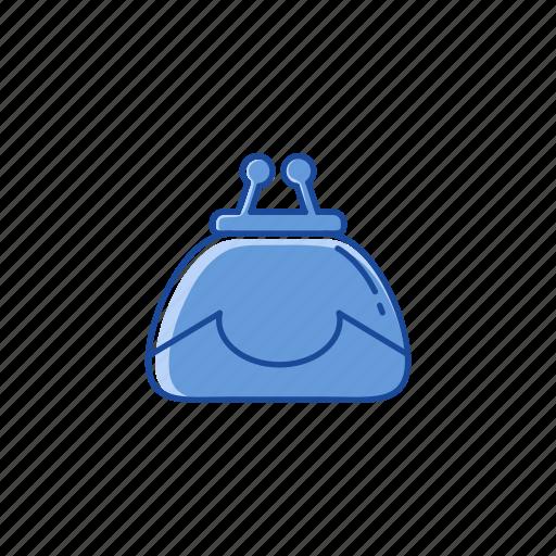 coin purse, coins, purse, wallet icon