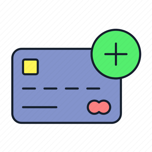 add, atm, credit card, debit card, master card, payment, transaction icon