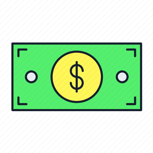 cash, dollar, finance, money, pay, payment, transaction icon
