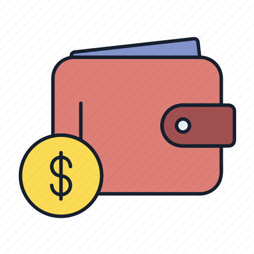 cash, dollar, money, payment, purse, wallet icon