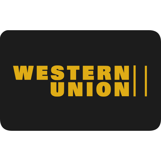 method, payment, union, western icon