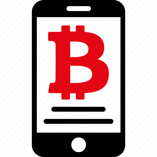 account, bitcoin, mobile, money, payment, phone, thai baht icon